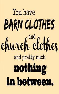 Barn clothes