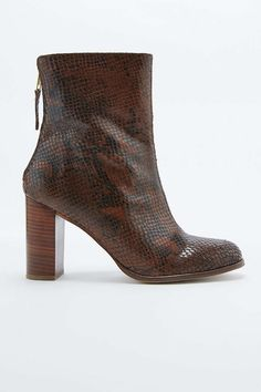 Urban Outfitters snake boots