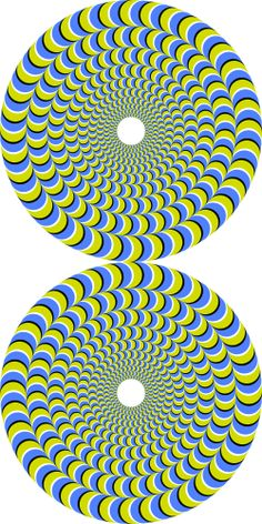 Rotating snakes 9 - Rotating snakes 9 -You can find Pintura and more on our website. Cool Optical Illusions, Art Optical, Illusion Kunst, Illusion Art, Eye Tricks, Mind Tricks, Fractal Art, Fractals, Snake Art