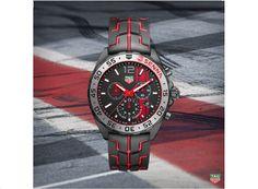 91d9043131a Tag Heuer Ayrton Senna Formula 1 Chronograph Relógios De Luxo
