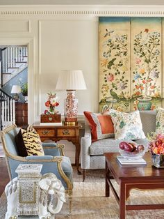 A Place to Call Home: Timeless Southern Charm - Decoration, Room Decoration, Decoration Appartement, Home Decor, Bedroom Decor Formal Living Rooms, Living Spaces, Modern Living, Living Room Furniture, Living Room Decor, Furniture Makers, Antique Furniture, Modern Furniture, Luxury Furniture