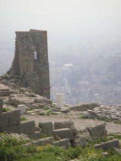 Ruins. Pergamum. Turkey.