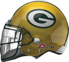 Helmet NFL Greenbay Packers Balloon