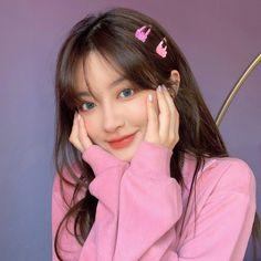 Korean Girl Photo, Cute Korean Girl, Cute Girl Photo, Cute Asian Girls, Cute Girls, Alone Girl Pic, Beautiful Girl Makeup, Korean Beauty Girls, Ulzzang Korean Girl