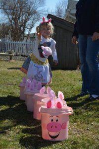 Juego Para Fiesta Peppa Pig 2 Peppa Pig Birthday Party Peppa Pig Birthday Pig Party