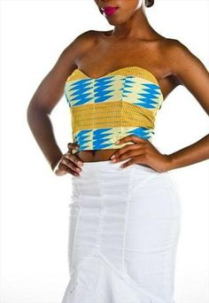 Soooo i want this -___-   Limited Edition Tribal Print African Bustier