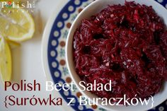 Before you say I don't like beets, give me a chance. If you're of Polish descent, beet juice flows through your veins. Trust me. Like cabbage, this stuff is in our DNA. If you're …