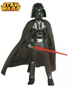 Check out Deluxe Darth Vader Child Costume - Cheap Star Wars Boys Costumes from…