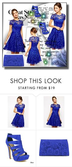 """""""set 84"""" by fahirade ❤ liked on Polyvore featuring WithChic, Celeste and Nancy Gonzalez"""