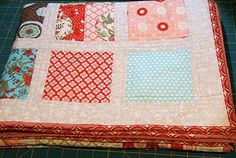 charm pack quilt with link to McKinley quilt pattern