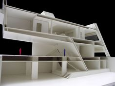 Architectural sketch  model