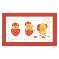 Hatchlings Counted Cross Stitch Kit