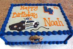 Police Cake Ideas                                                                                                                                                      More