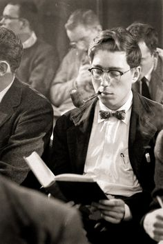 Back when academics actually looked intelligent.
