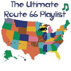 The ultimate Route 66 playlist . For long road trips – An Ideal Place and Travel – Road Trip Route 66 Road Trip, Travel Route, Us Road Trip, Road Trip Hacks, Travel Usa, Travel Oklahoma, Key West Florida, Mississippi, Road Trip Playlist