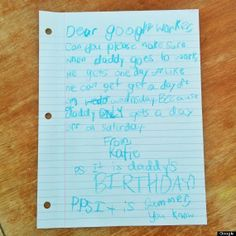 Daughter Ingeniously Scores Her Dad Extra Vacation Days at Google