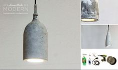 Another minimal concrete pendant light, this time from John Lewis. Description from colourfulbeautifulthings.co.uk. I searched for this on bing.com/images