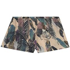 Underprotection Fenya Shorts ($60) ❤ liked on Polyvore featuring grey