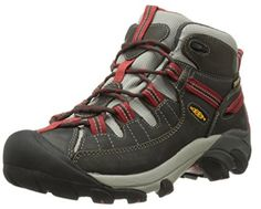 Big deal KEEN Women's Targhee II Mid Outdoor Boot, Raven/Bossa Nova, 9 M US discover this and many other bargains in Crazy by Deals, we bring daily the best discounts for you Best Hiking Boots, Hiking Boots Women, Hiking Shoes, Running Shoes, Yellow Boots, Waterproof Hiking Boots, Walking Boots, Trail Shoes, Boots Online