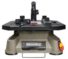 NEW Rockwell Portable Tabletop Table Saw Blade Power Tool Tablesaw Miter Gauge Fast Furniture, Furniture Repair, Furniture Ideas, Tabletop Saw, Best Scroll Saw, Portable Table Saw, Rip Cut, Blade Runner, Steel