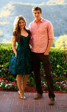 Holland Roden and Daniel Sharman attend the Annual Saturn Awards Reception at The Castaway on June 26 2013 in Burbank California Teen Wolf Isaac, Teen Wolf Mtv, Teen Wolf Boys, Teen Wolf Dylan, Teen Wolf Cast, Sterek, Beautiful Dresses, Nice Dresses, Wolf Character