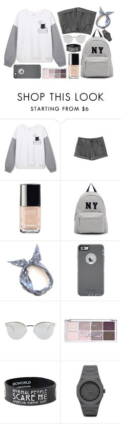 """""""Cute & Beautiful Outfit! (Check description)"""" by elizabeth4ever ❤ liked on Polyvore featuring Chanel, Joshua's, OtterBox, Fendi, CC, women's clothing, women, female, woman and misses"""