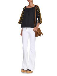 Dalma embroidered cotton top | Vanessa Bruno | MATCHESFASHION.COM