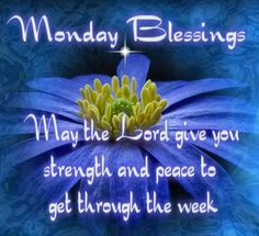 Monday Blessings quotes quote days of the week monday quotes happy monday happy monday quotes Monday Morning Quotes, Good Monday Morning, Monday Quotes, Morning Wish, Happy Monday, Monday Monday, Hello Monday, Monday Blessings, Morning Blessings