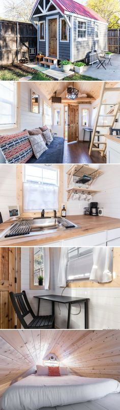 The Urban Cottage: a 180 sq ft tiny house, available for sale for just $8,000!