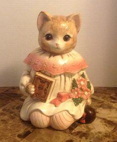 Mervyns Emily Cat Cookie Jar | eBay