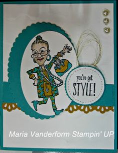 Crafty Maria's Stamping World: You've Got Style Create with Connie & Mary # 466