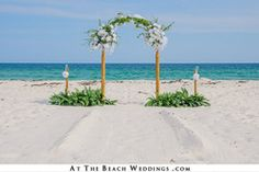 Three $799 Beach Wedding Special Packages