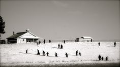 Amish Snow Day