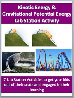 This fully editable Lab Station Activity on Kinetic and Gravitational Potential Energy is meant to get your kids out of their seats and engaged in the content. Each station not only offers a unique opportunity to test your students knowledge but also provides a fantastic learning opportunity where your kids are learning through assessment.