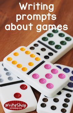 Writing prompts about games • WriteShop