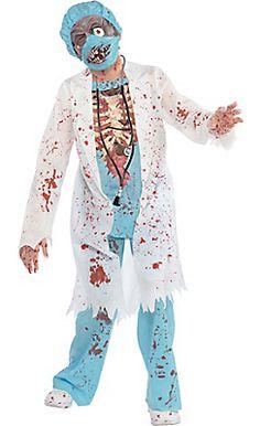 Boys Surgeon Zombie Costume