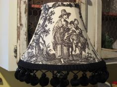 Fabric Toile Lamp Shades - Bing Images
