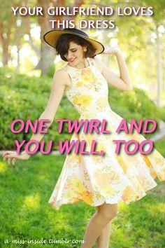Forced Tg Captions, Cute Dresses, Summer Dresses, Tg Caps, Tgirls, Dress First, Feminism, Girlfriends, Dress Up