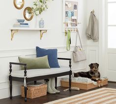 Pottery Barn Has Teamed Up With Nashville Interior Designer Sarah  Bartholomew On An Entryway Collection That
