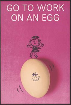 Go to Work on an Egg (1964)  #RePin by AT Social Media Marketing - Pinterest Marketing Specialists ATSocialMedia.co.uk
