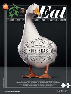 Eat magazine #layout #cover