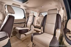 Cadillac Escalade with custom interior