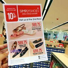 See you tomorrow #Shoeholics!!! #SimplyShoesLegazpi opens in Ayala Malls Legazpi 👍🏻 #hotshoes #forsale #ilike #shoeslover #like4lik #shoes #niceshoes #sportshoes #hotshoes