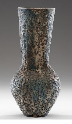 Lucie Rie; Glazed Ceramic Vase, c1958.
