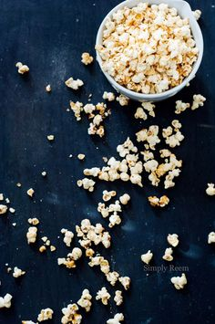 Tangy Tequila Popcorn