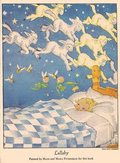 Lullaby painted by Maud and Miska Petersham, 1936
