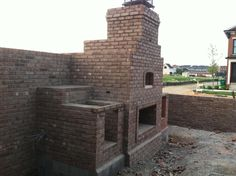 Pizza Oven and Outdoor entertainment  Cooking area. By Sparks Masonry  New Albany IN