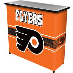 Trademark Gameroom NHL Portable Bar with Case - Philadelphia Flyers