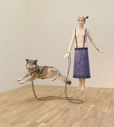 Marc Fromm, 2011 Conceptual Art, Figurative, Bliss, Objects, Relationship, Sculpture, 3d, Animals, Image