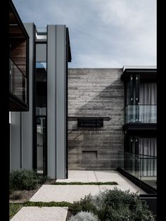 Love the featured wall especially against the wood, metal, glass and panels